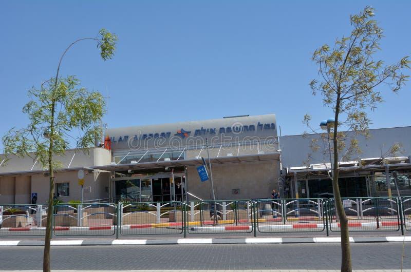 埃拉特机场在埃拉特以色列 图库摄影