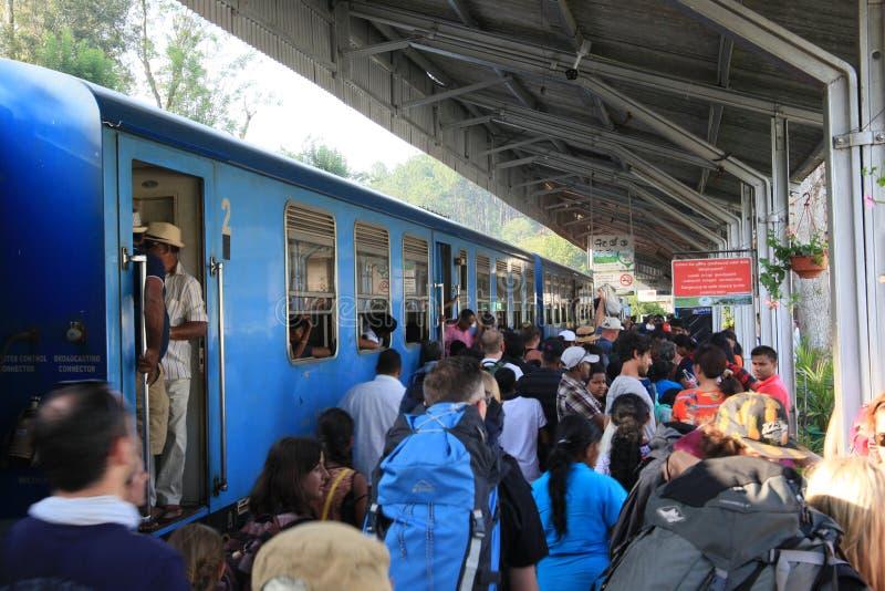 埃拉镇火车站 免版税库存照片