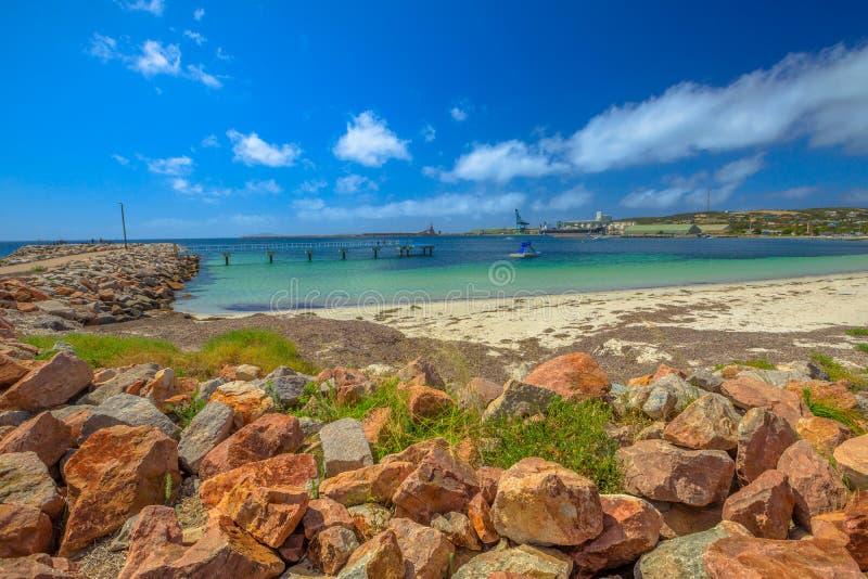 埃斯佩兰斯澳大利亚跳船 免版税库存图片
