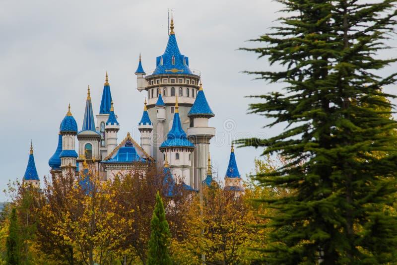 埃斯基谢希尔,土耳其:童话当中城堡,成为了埃斯基谢希尔的标志,由许多地方参观和外国 免版税库存照片