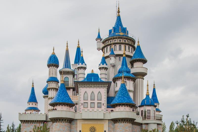 埃斯基谢希尔,土耳其:童话当中城堡,成为了埃斯基谢希尔的标志,由许多地方参观和外国 库存图片