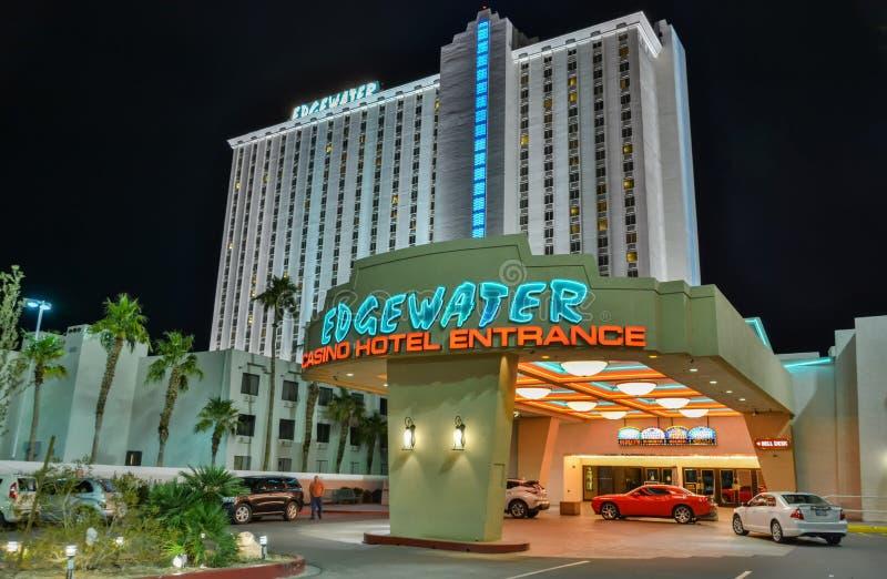 埃济沃特旅馆在劳克林,NV 库存图片