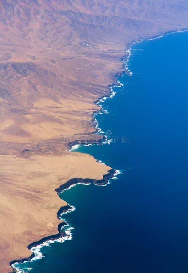 费埃特文图拉岛,加那利群岛 免版税库存照片