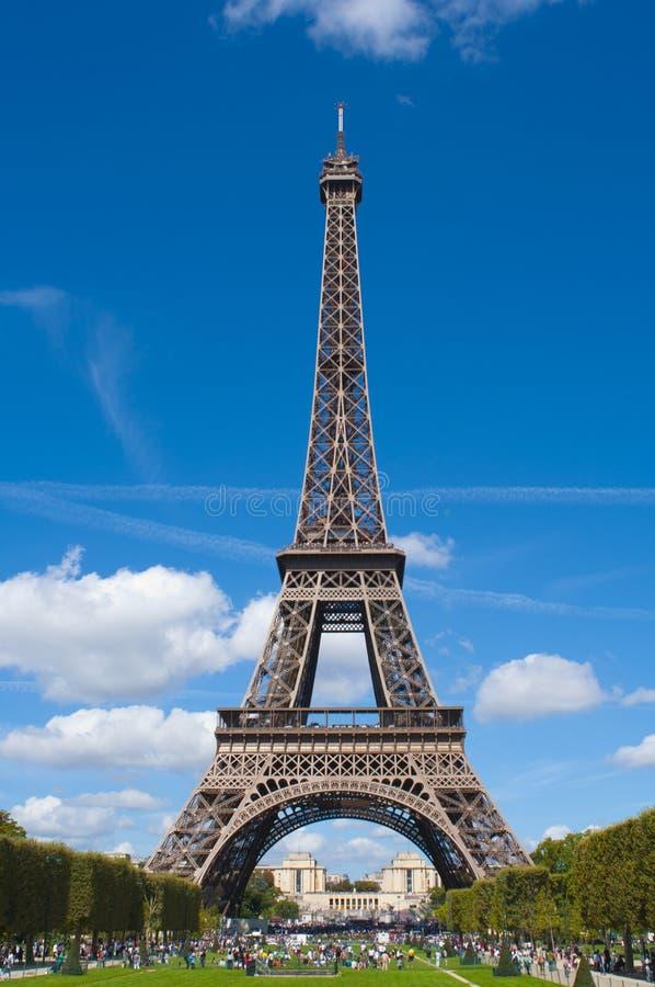 埃菲尔法国全球图标巴黎塔 免版税库存照片