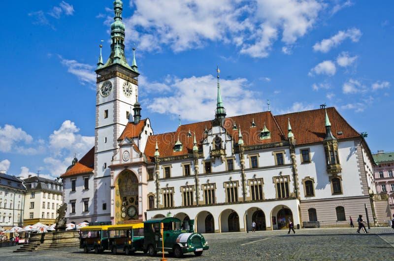城内住宅Olomouc,捷克repuplic 免版税图库摄影