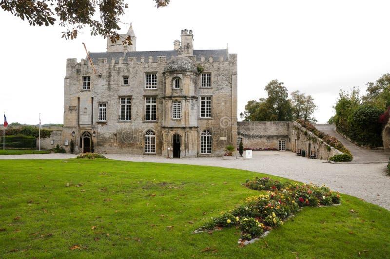 城堡中世纪的法国 免版税库存照片