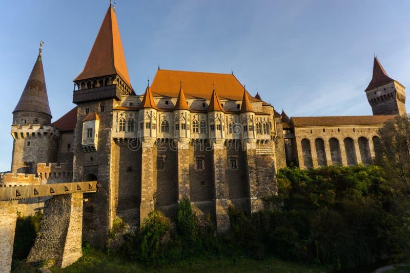 城堡中世纪老 免版税图库摄影