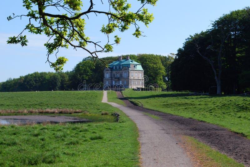 城堡丹麦eremitage 库存照片