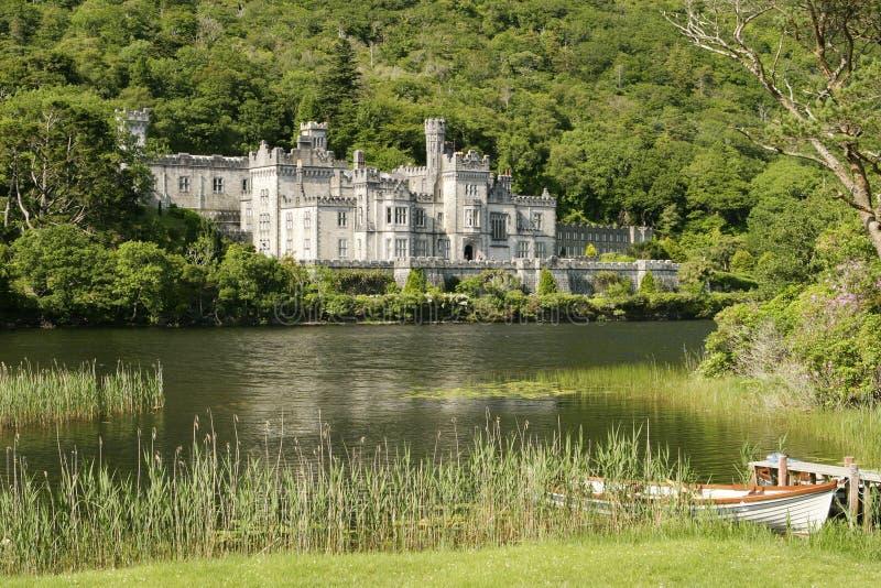 城堡乡下爱尔兰语 免版税库存照片