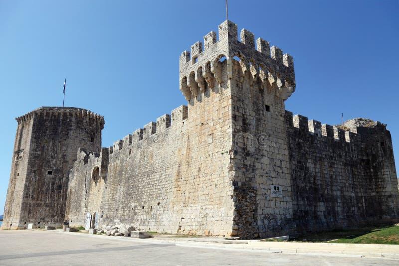城堡克罗地亚trogir 免版税图库摄影