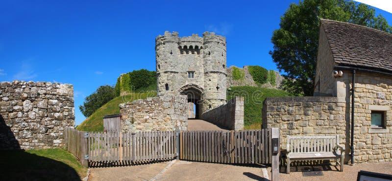 城堡入口 免版税库存图片
