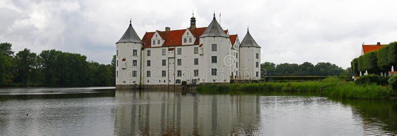 城堡全景 库存图片