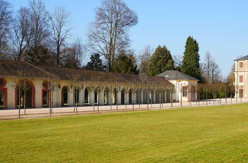 城堡公园收藏页 库存照片