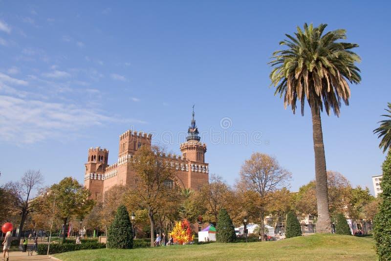 城堡公园 库存照片