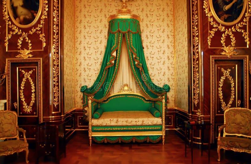 城堡内部 库存照片