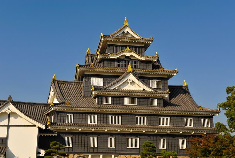 城堡冈山 免版税库存图片