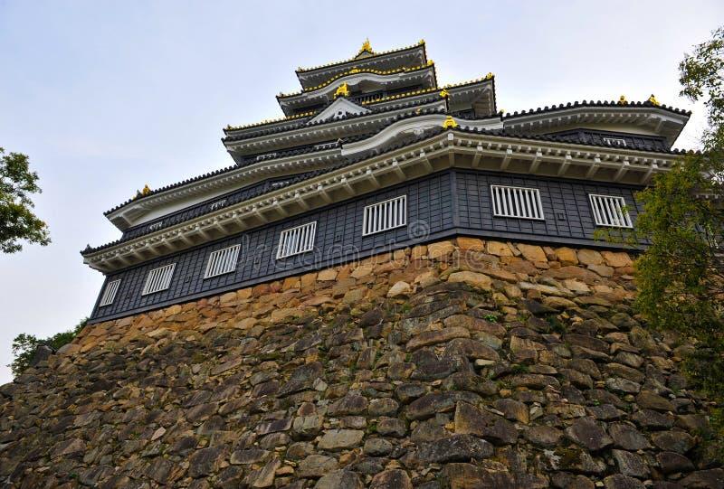 城堡冈山 图库摄影
