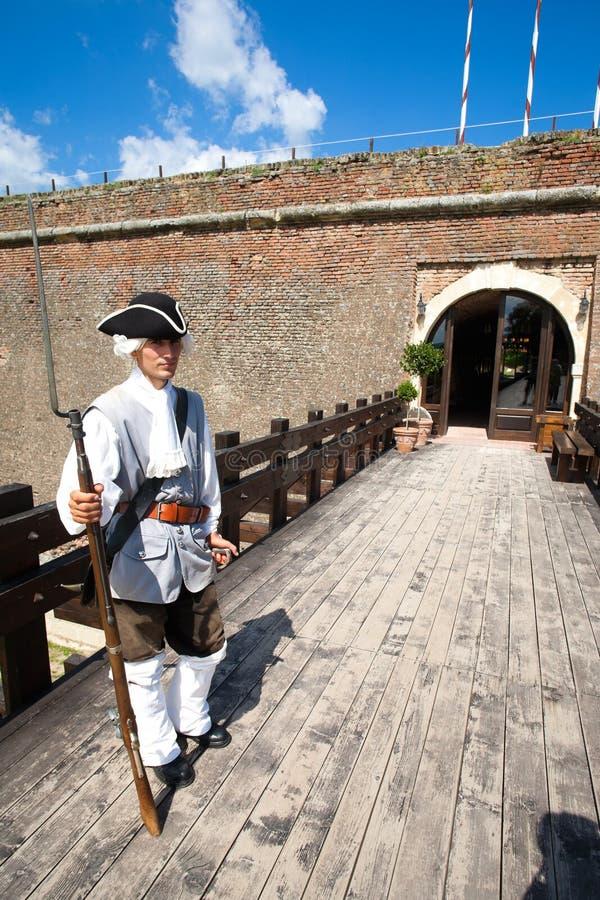 城堡卫兵 免版税库存照片