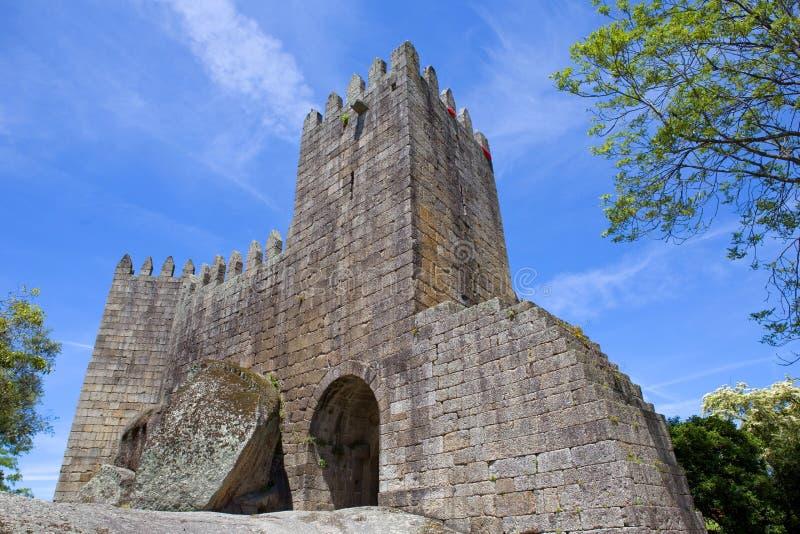 城堡吉马朗伊什 免版税库存照片