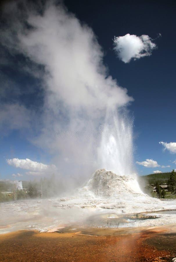 城堡喷泉 库存图片