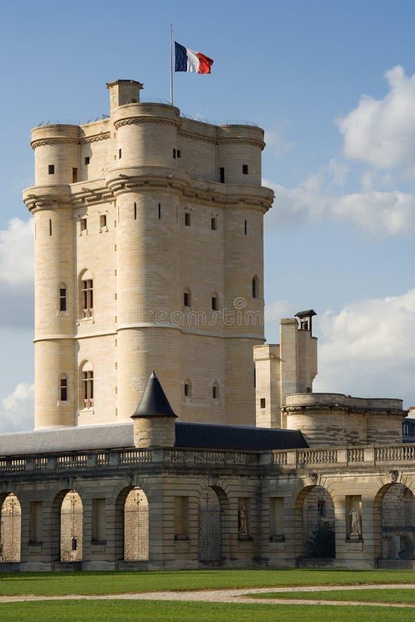 城堡土牢vincennes 免版税图库摄影