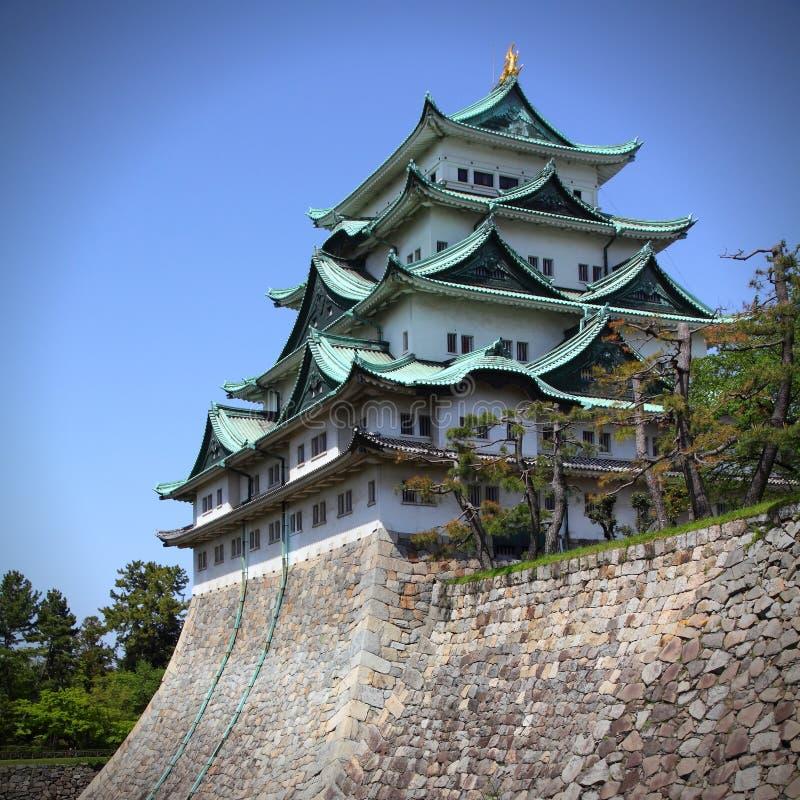 城堡在名古屋,日本 免版税库存图片