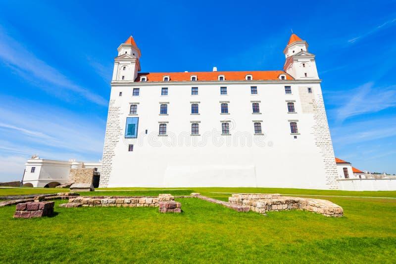 城堡在布拉索夫,斯洛伐克 图库摄影
