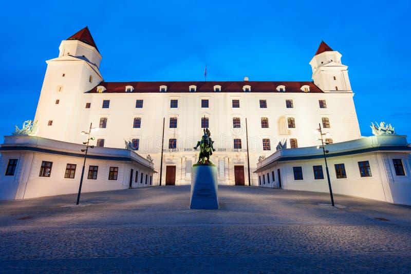 城堡在布拉索夫,斯洛伐克 免版税库存照片