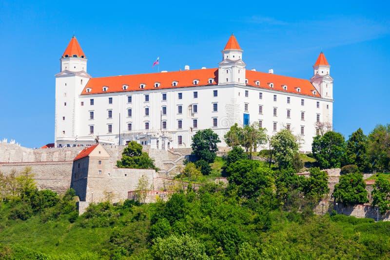 城堡在布拉索夫,斯洛伐克 库存图片