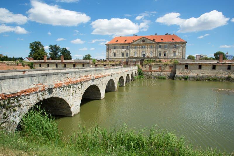 城堡在Holic,斯洛伐克 免版税库存图片