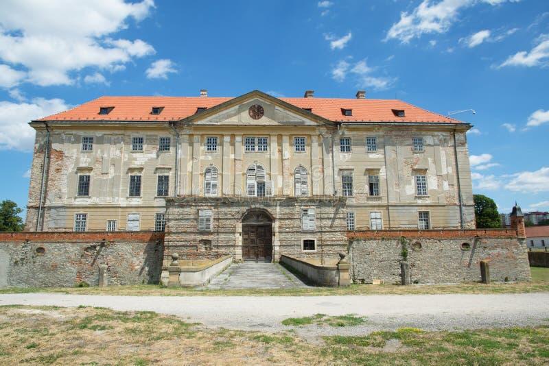 城堡在Holic,斯洛伐克 免版税库存照片