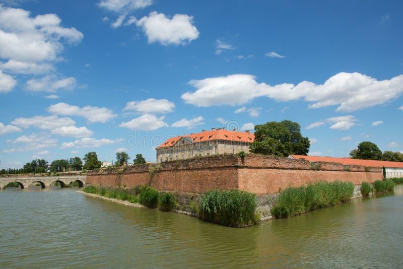 城堡在Holic,斯洛伐克 免版税图库摄影
