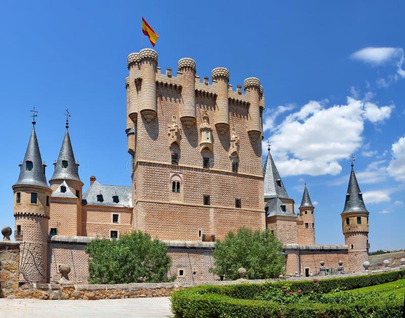 城堡城堡,西班牙 库存照片