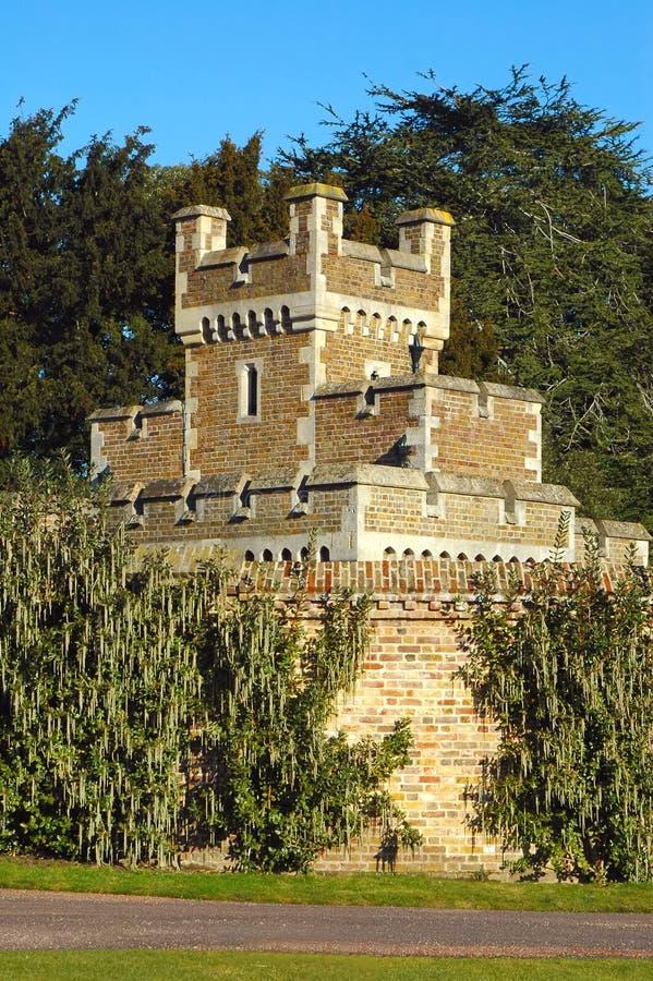 城堡塔楼 免版税库存图片