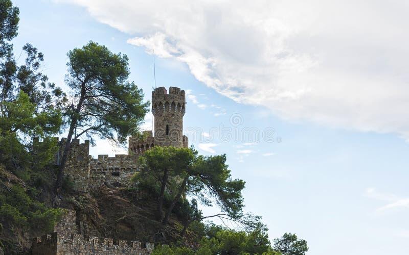 城堡塔 库存图片