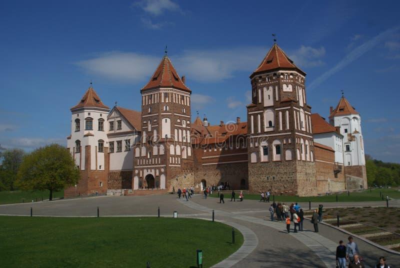 城堡复杂mirsky 库存照片