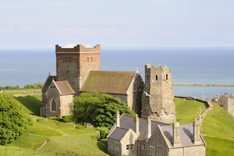 城堡多弗 免版税库存图片