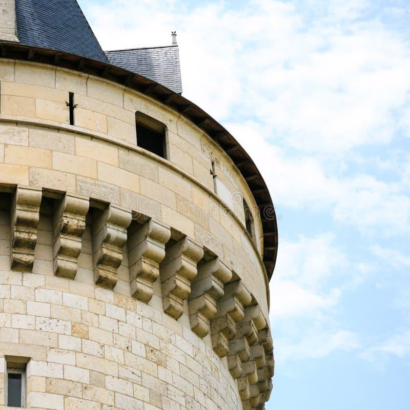 城堡大别墅de玷污苏尔卢瓦尔河塔  免版税图库摄影