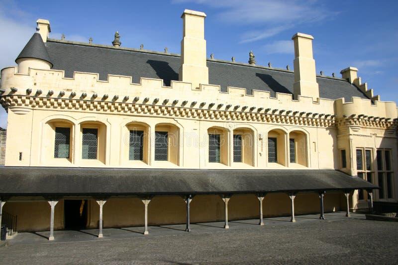 城堡大厅stirling 免版税库存图片