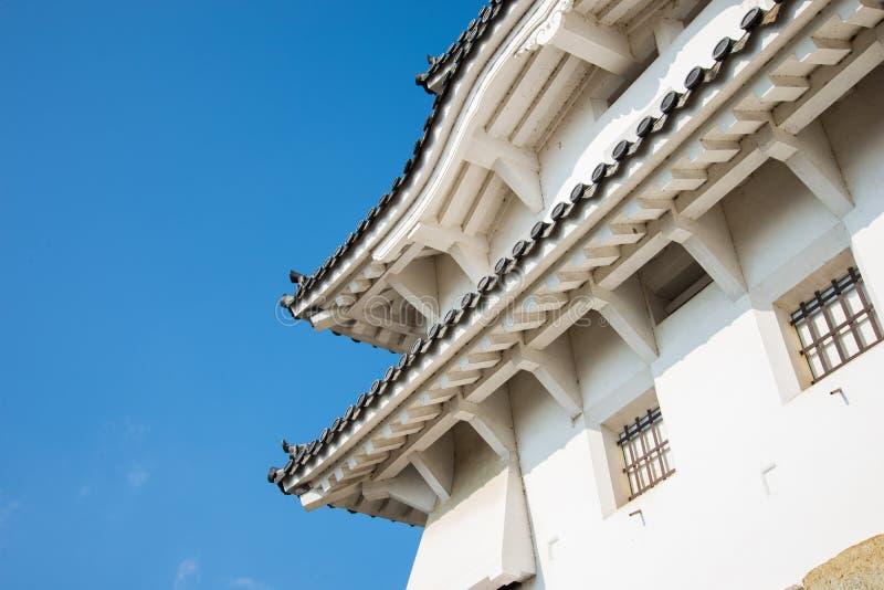 城堡姬路日本 免版税库存图片