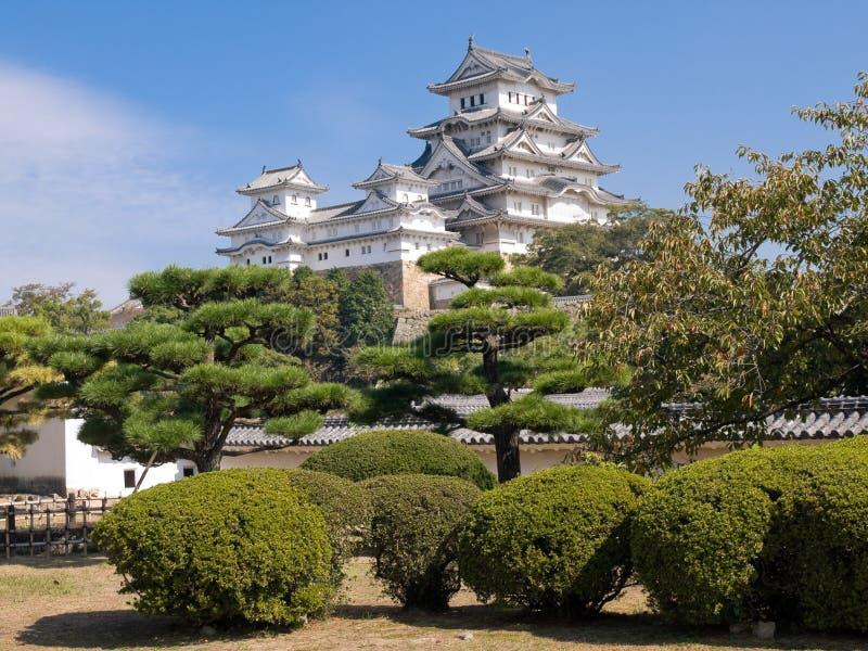 城堡姬路 库存图片