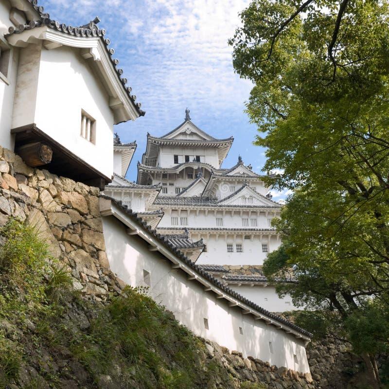 城堡姬路 免版税库存照片
