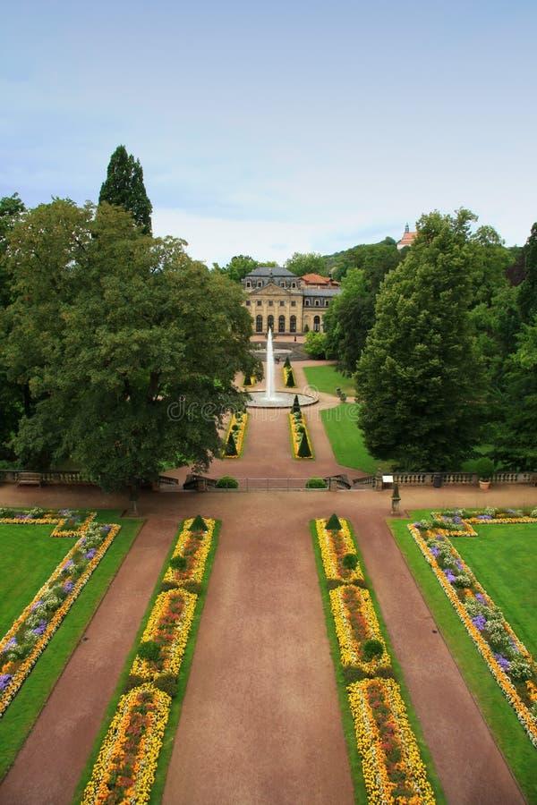 城堡富尔达宫殿 免版税图库摄影