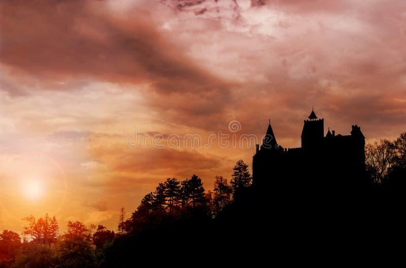 城堡德雷库拉s 库存图片