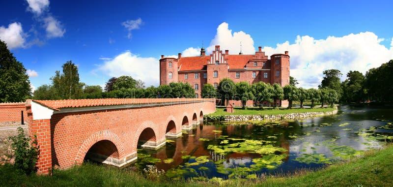城堡房子庄园 免版税库存图片