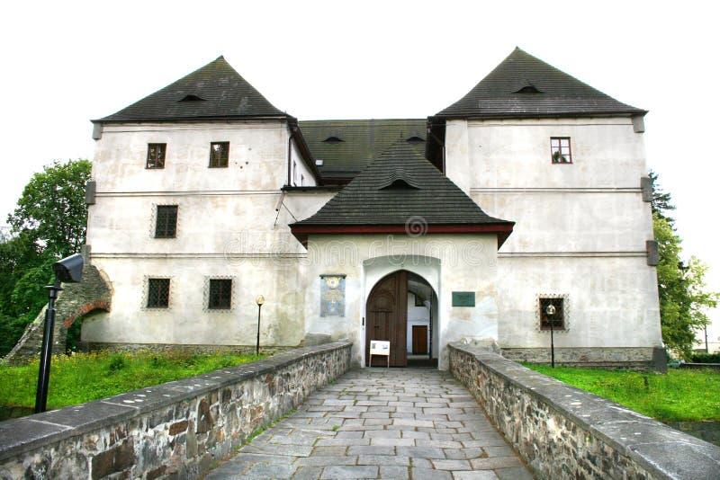 城堡捷克老共和国 免版税库存图片