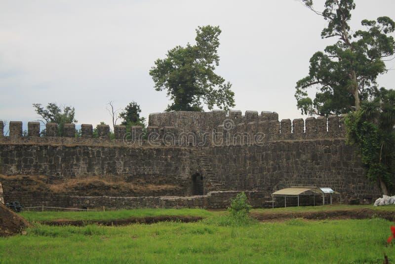 城堡接近  库存照片
