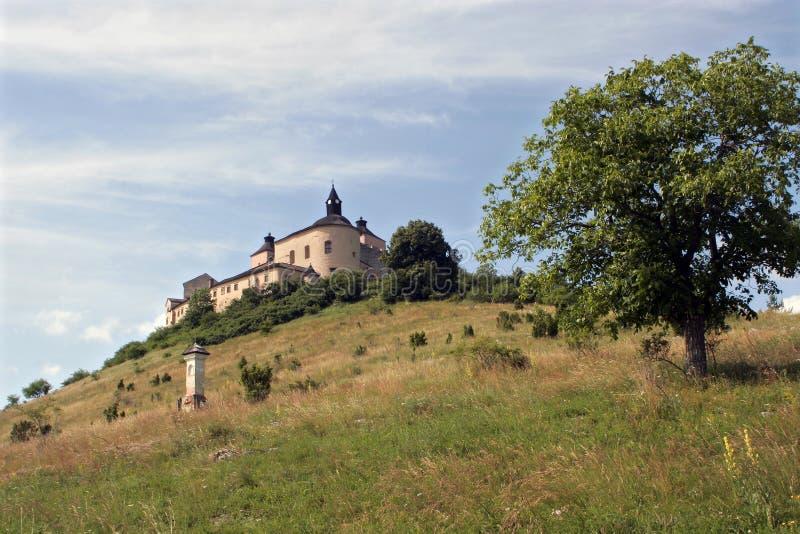 城堡斯洛伐克 免版税库存图片