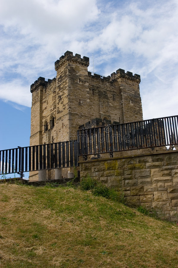 城堡新堡 库存图片