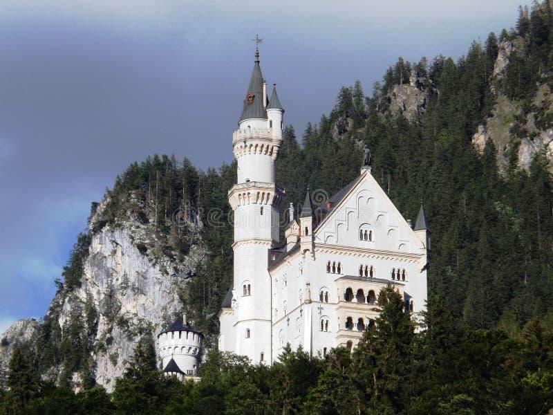 城堡新天鹅堡 库存照片